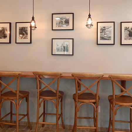 Interior of the Seafare Chippery in Fanwood, NJ